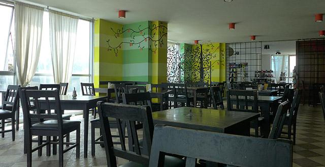 Thiết kế nội thất quán cafe đẹp kết hợp thức ăn nhanh Lime Tree