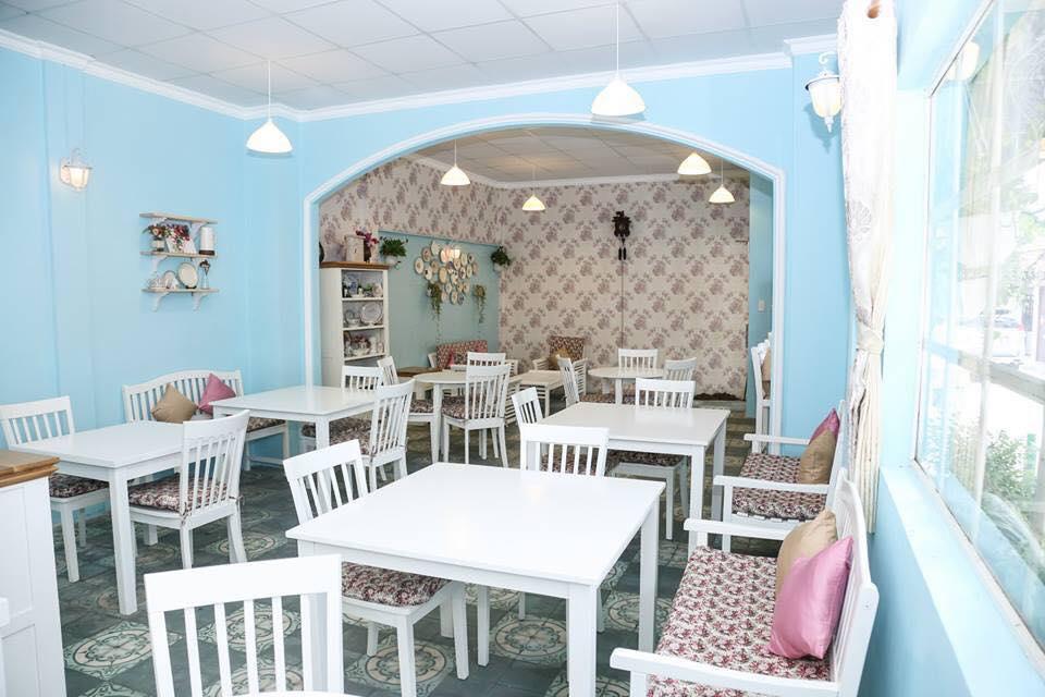 Tổng quan thiết kế thi công nội thất quán cafe bên trong