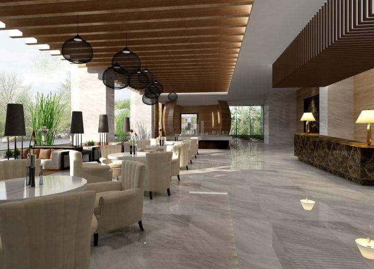 thiết kế nội thất quán cafe phong cách hiện đại