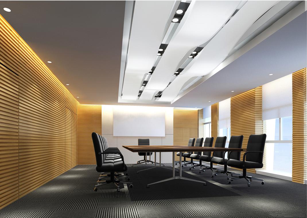 Mẫu thiết kế nội thất phòng họp