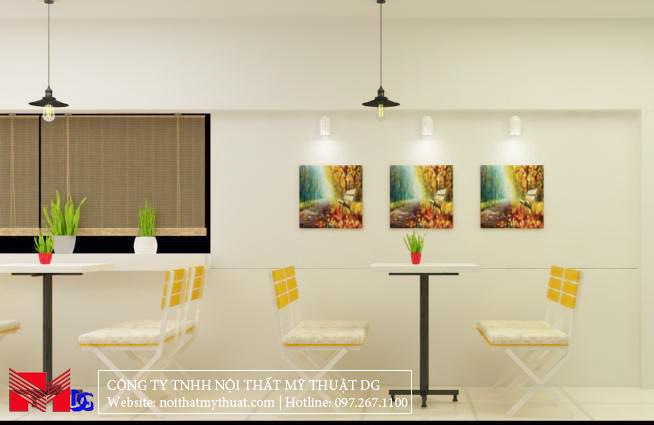 Thiết kế quán cafe tại Kiên Giang - Cảnh bờ sông