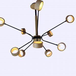 đèn chùm thả DTHC-10-18