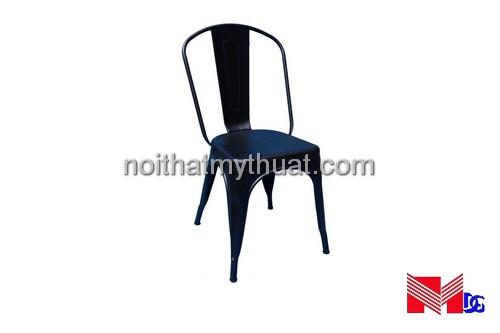 Ghế sắt tolix đen