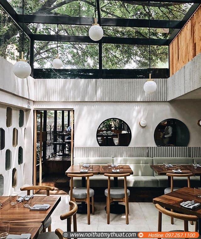 Thiết kế nội thất quán cà phê đẹp xinh với nhiều góc sống ảo