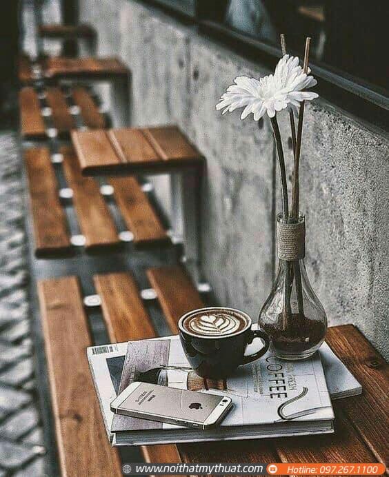 Thiết kế không gian đẹp cho khách hàng góc ngồi lý tưởng và yêu thích nhất.