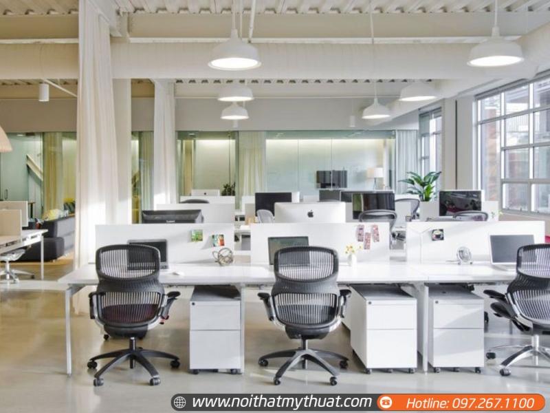 Nội Thất Mỹ Thuật DG chuyên tư vấn thiết kế văn phòng đẹp sang trọng