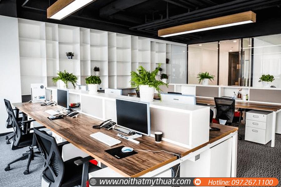 Thiết kế văn phòng hướng tới phong cách hiện đại, trẻ trung