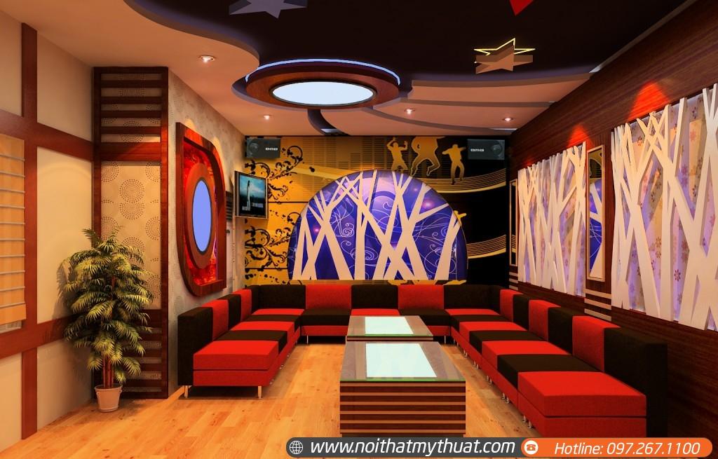 Tư vấn thiết kế nội thất phòng karaoke bình dân hay phòng vip