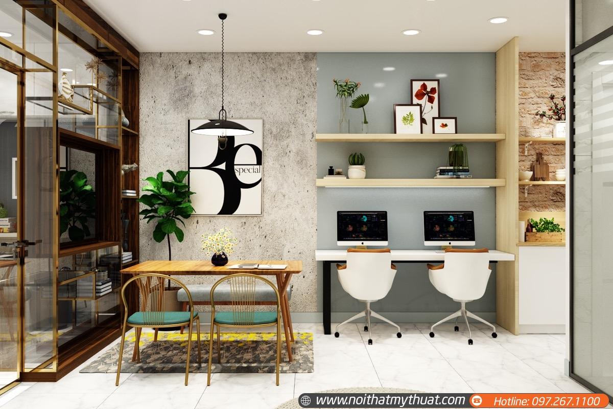 Thiết kế văn phòng tối giản sao cho sang trọng đẹp mắt