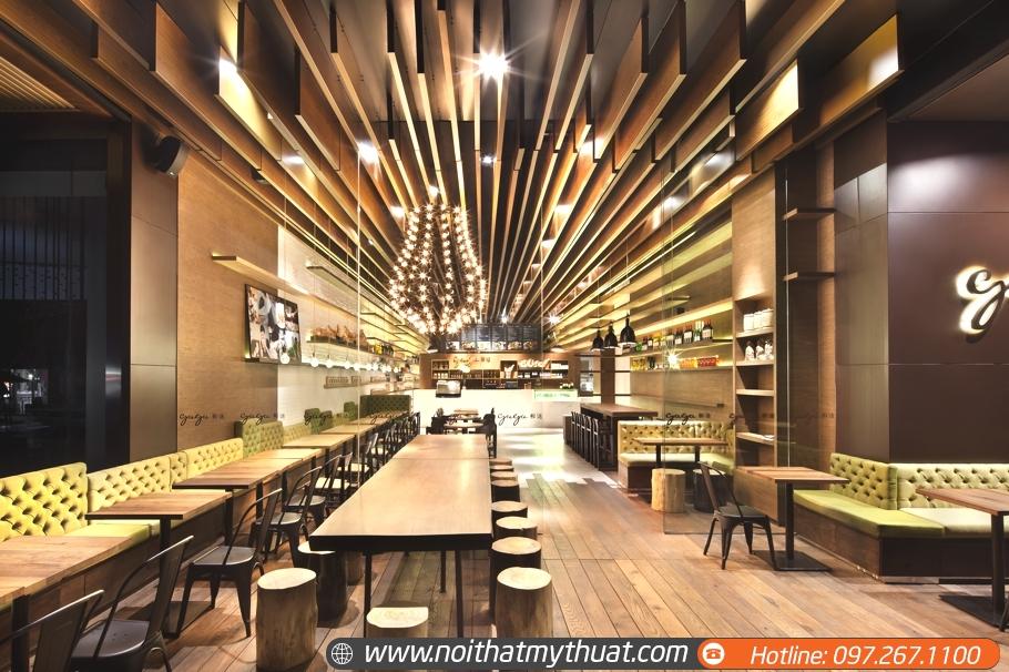 đơn vị thiết kế quán cafe phong cách mới