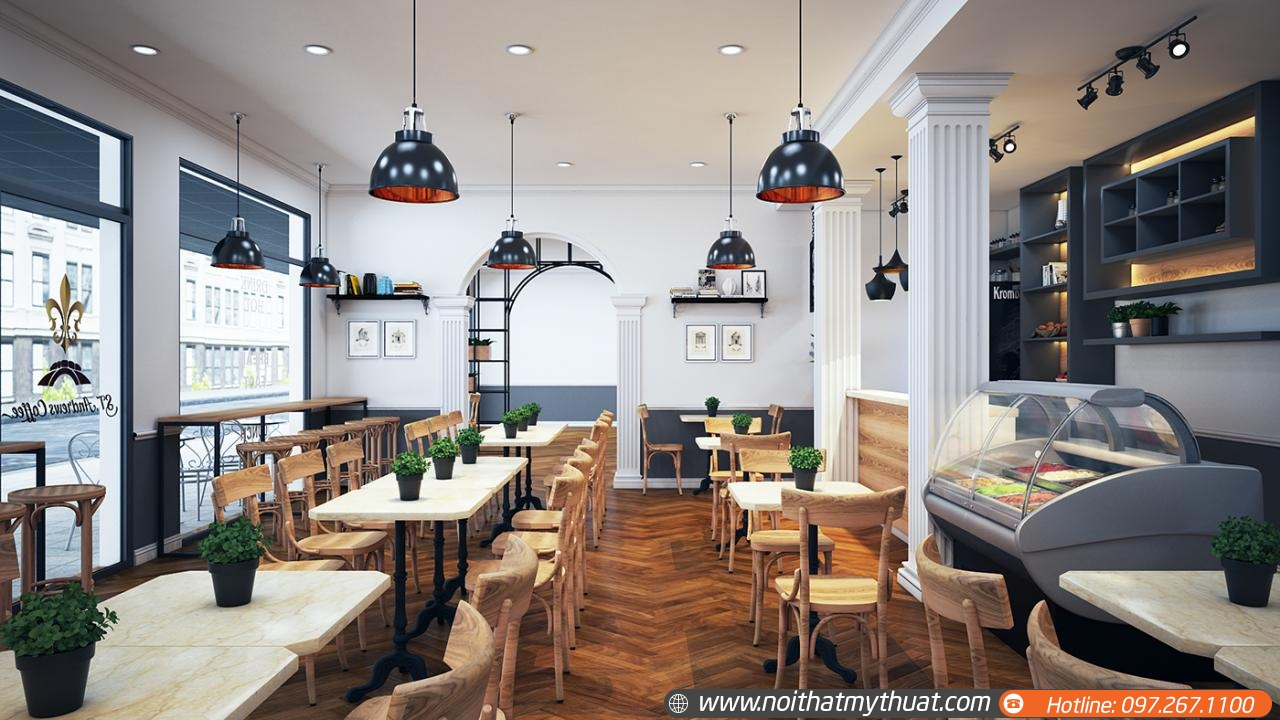 Nội thất nhà hàng cao cấp