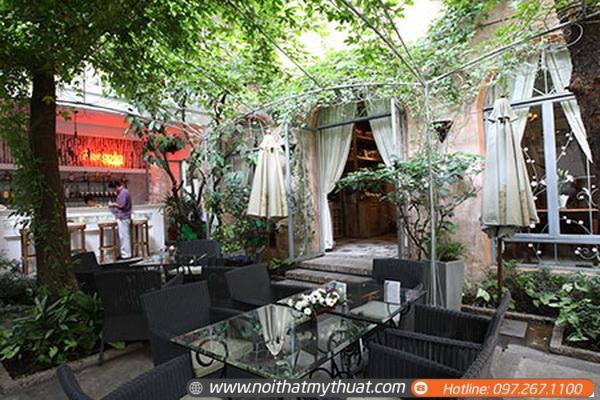 60 mẫu quán cafe sân vườn (p2)