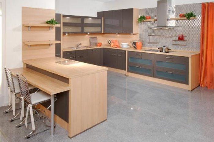 Mẫu nội thất nhà bếp B001