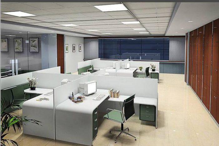 Mẫu nội thất văn phòng V002