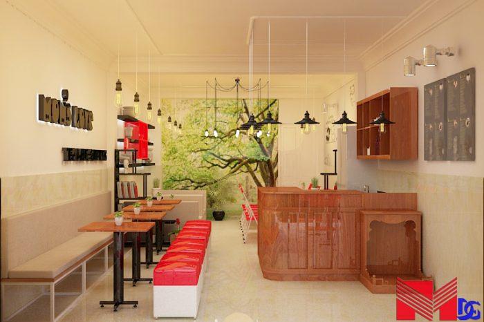 Thiết kế quán trà sữa tại đồng tháp - Mom's Love (2)