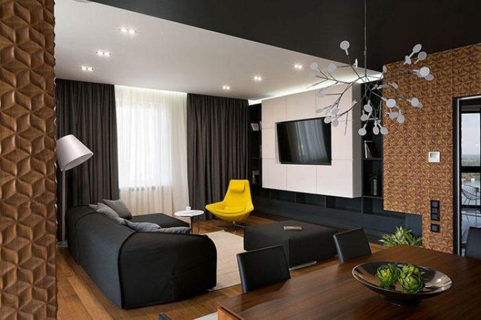 Mẫu nội thất phòng khách K003