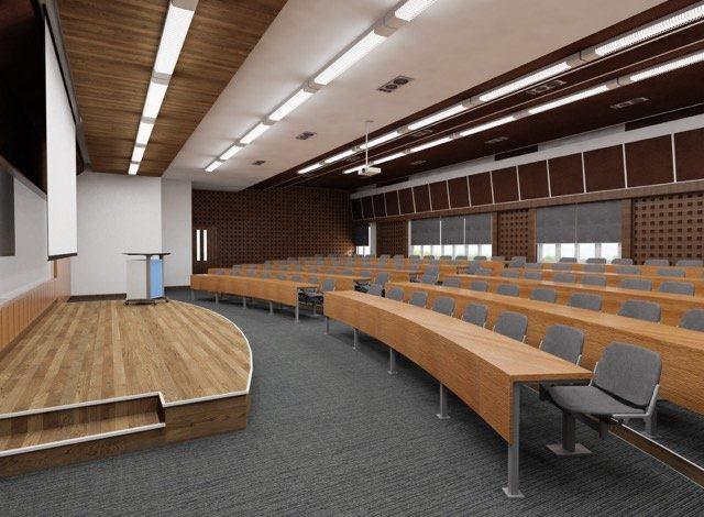 Mẫu nội thất phòng hội nghị H001