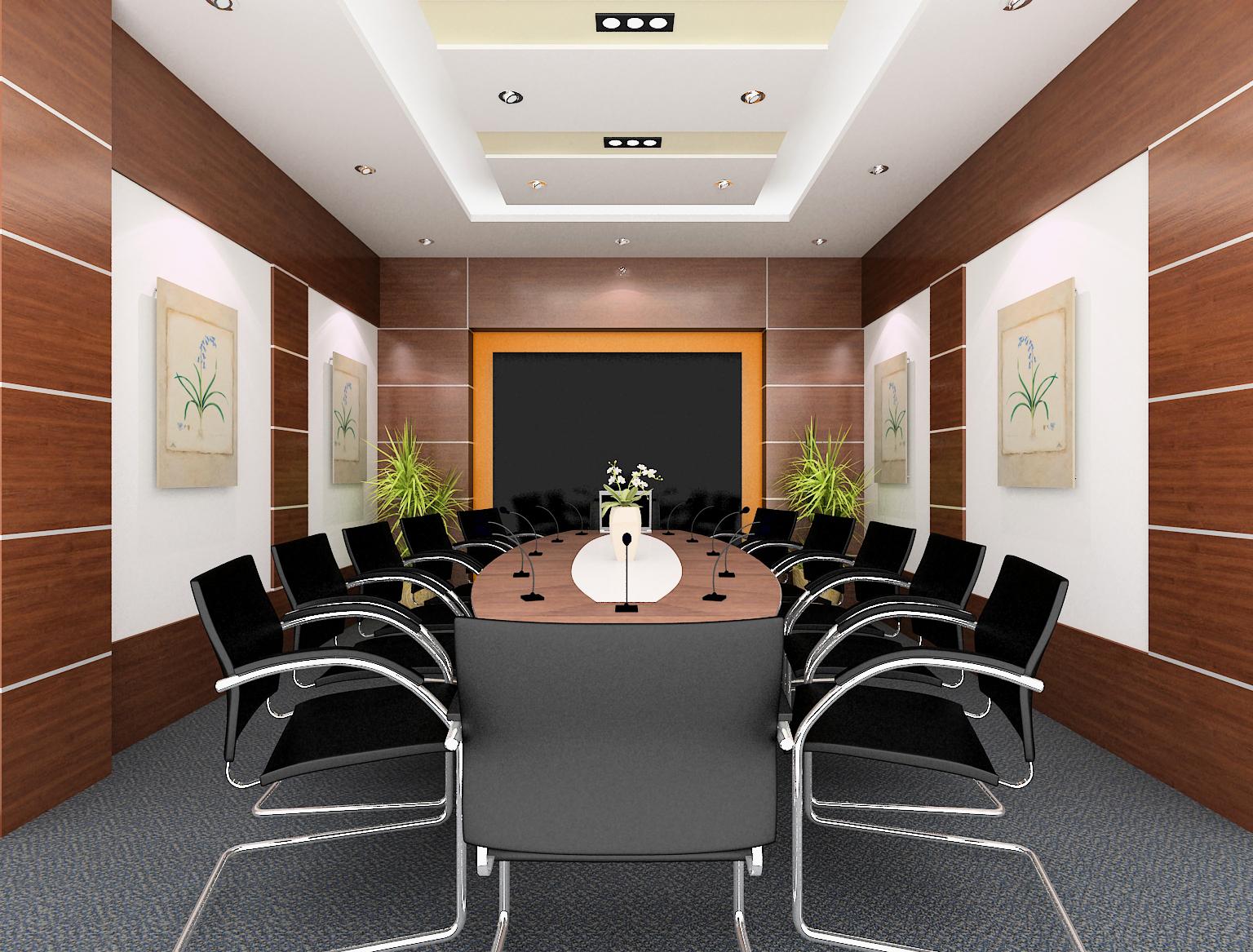 Mẫu nội thất phòng họp H001