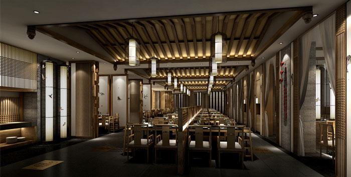 Thiết kế nhà hàng phong cách trung hoa cổ điển
