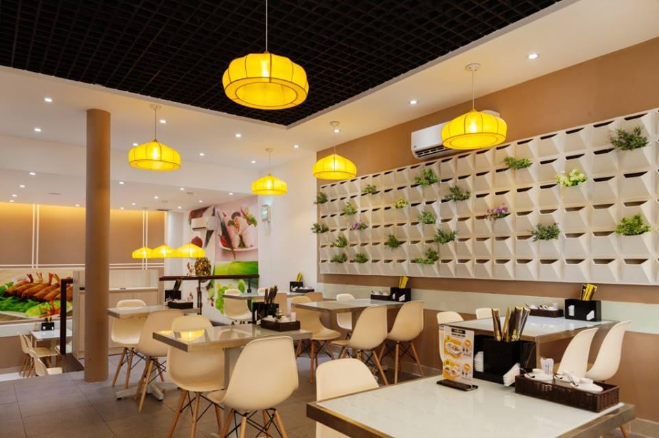 Mẫu nội thất quán ăn nhà hàng A003