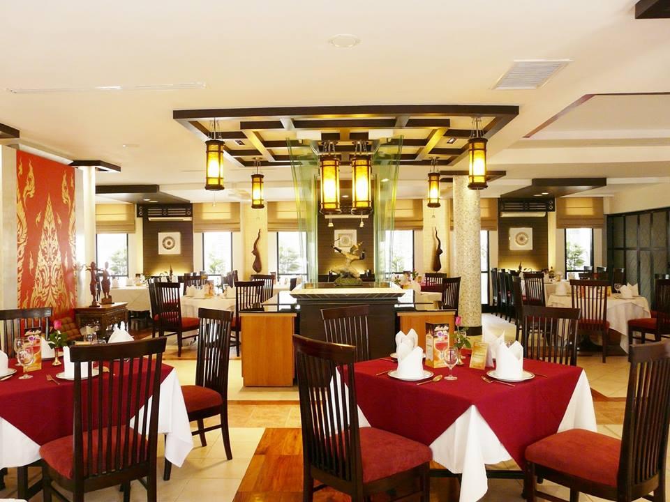 Mẫu nội thất quán ăn nhà hàng A004