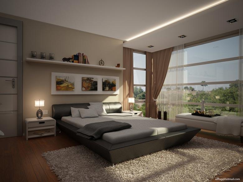 Mẫu nội thất phòng ngủ hiện đại N003