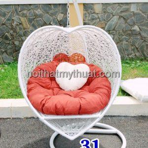 Ghế xích đu trái tim XD31