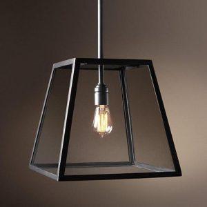 đèn thả khung sắt DTHC-12