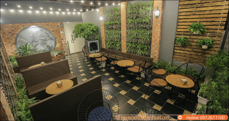 Xu hướng thiết kế quán trà sữa đẹp tăng doanh thu cho quán